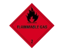 Etiket ADR/IMO flammable  gas